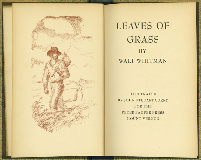 Leaves of Grass [illustrated]
