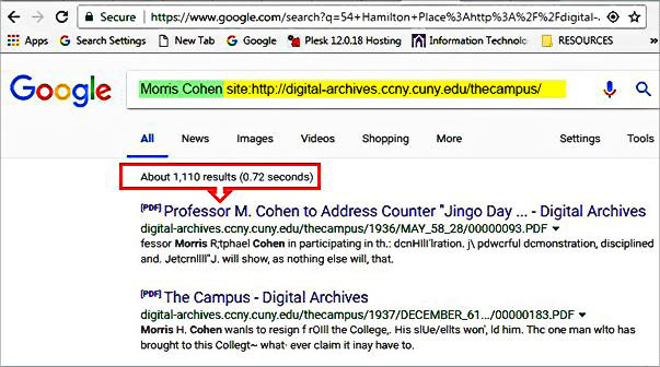 Search all The Campus files
